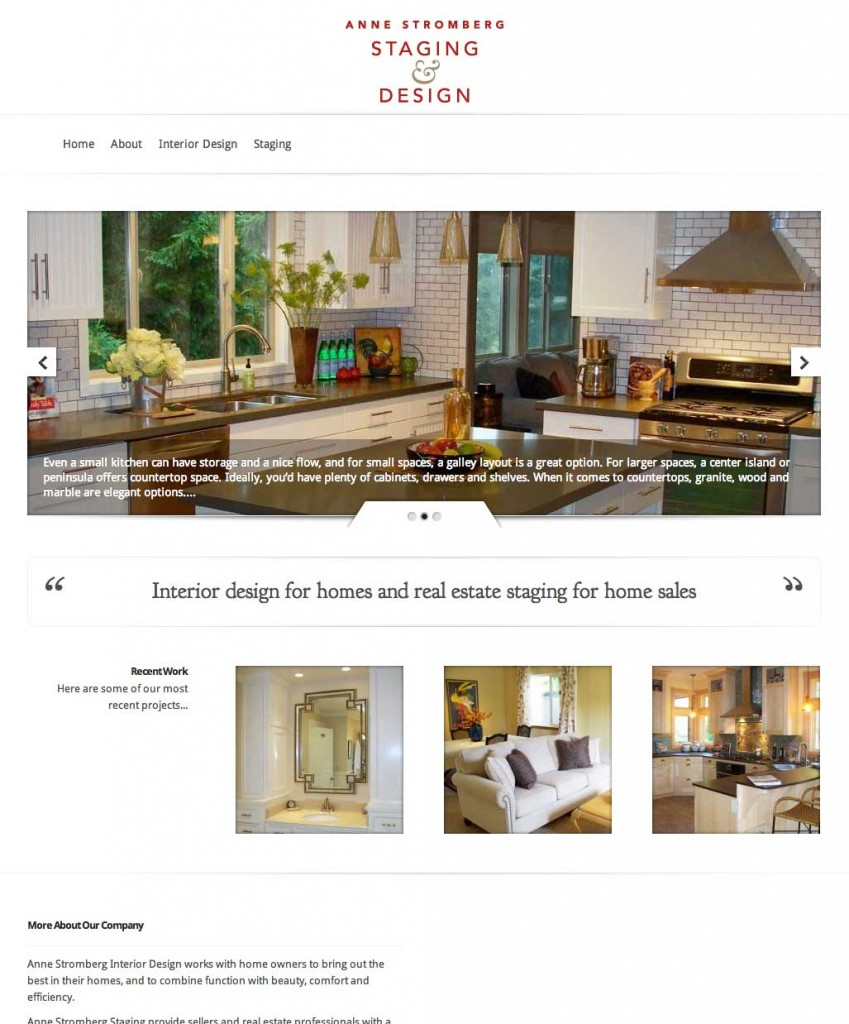 anne stromberg staging and design