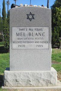 epitaph for Mel Blanc