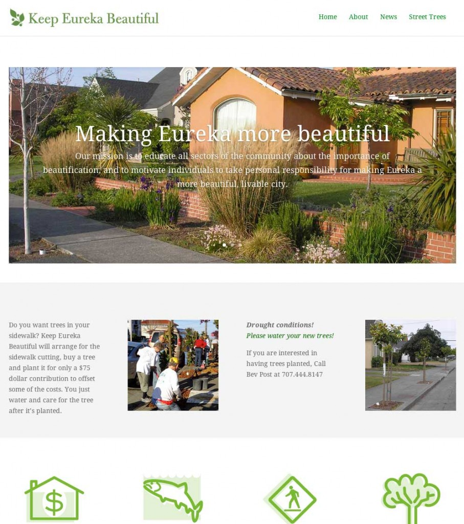 keep eureka beautiful website