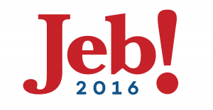 Jeb Bush 2016 with exclamation
