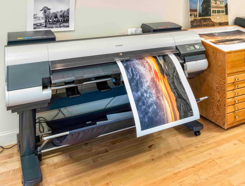 Giclée inkjet art printer